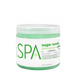 BCL SPA Sugar Scrub Lemongrass + Green Tea