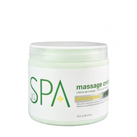 BCL SPA Massage Cream Lemongrass + Green Tea