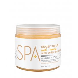 BCL SPA Sugar Scrub Milk + Honey With White Chocolate