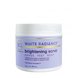 white radiance scrub