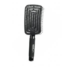 label detangling paddle brush