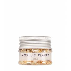 Metallic Flakes Gold